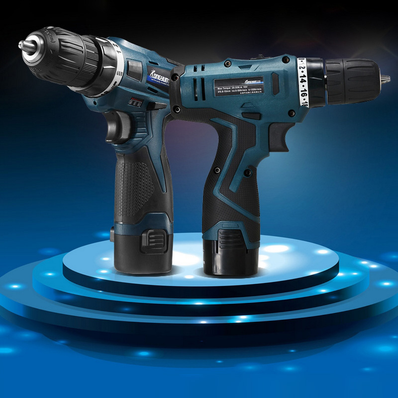 12V 16.8 V Multifunction Electric Drill Cordless Screwdriver Lithium Battery Mini Drill Power Tools Cordless Drill