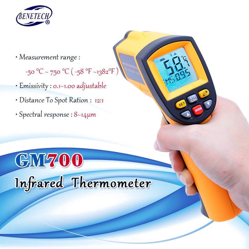 Big Discount #13a8f Digital IR Infrared Thermometer Non