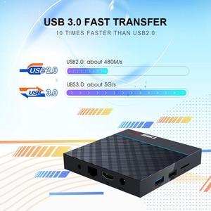 Image 5 - T95 MAX Plus Smart TV Box S905X3 64 Bit Android 9.0 4GB ROM 64GB RAM TVBox 2.4G+5G Dual band WiFi UHD 8K Media Playr PK X96 Air