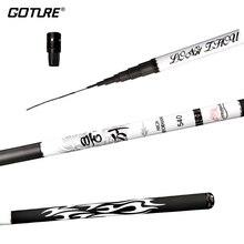Hand-Fishing-Pole Goture Painting Stream-Rod Telescopic Carbon-Fiber Korean 9M/10M