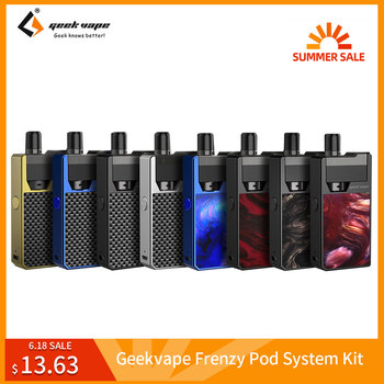 Clearance Original Geekvape Frenzy Pod System Kit 950mAh Battery SS316 Coil aegis solo VS Cuboid Mini E-Cigarette