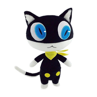 30cm Stuffed Doll Anime Persona 5 P5 Morgana Plush Doll Black Kitty Cosplay Cat Pillow Cushion Toy Christmas Gifts Collector Hot
