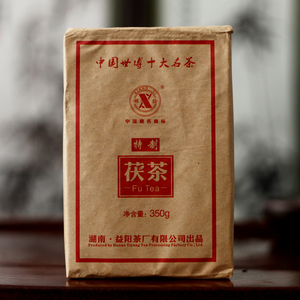Fu Tea 2012 Year Fucha China Xiang Yi Yiyang Anhua Dark Tea Hei Cha Fu Brick Tea 350g