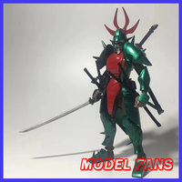 MODEL FANS pre sale lutoys model Ronin Warriors YoroiDen Samurai Troopers darkness demon general poison Metal Cloth Armor Plus