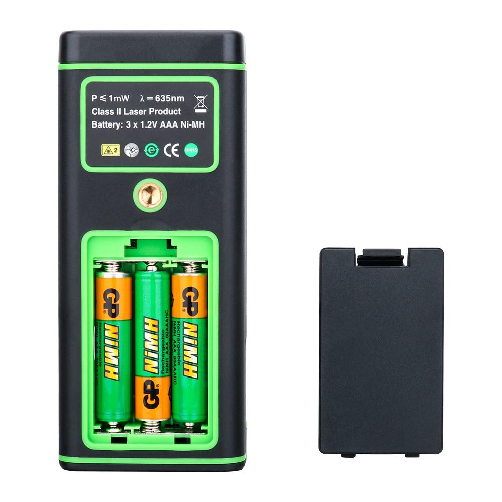 SNDWAY Kolorowy wyświetlacz 50 m 164ft Cyfrowy akumulator Dalmierz - Przyrządy pomiarowe - Zdjęcie 5