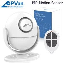 PIR Motion Remote-Controller Detector Security-Alarm Send-Free Infrared Cpvan