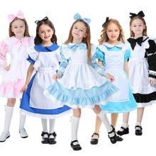 Umorden Детский костюм Алисы в стране чудес для девочек подростков