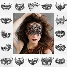 New Women Sexy Eye Mask Party Masks for Masquerade Halloween Venetian Costumes Carnival Mask for Anonymous Mardi 1pcs black women sexy lace eye mask party masks for masquerade halloween venetian costumes carnival mask for anonymous mardi
