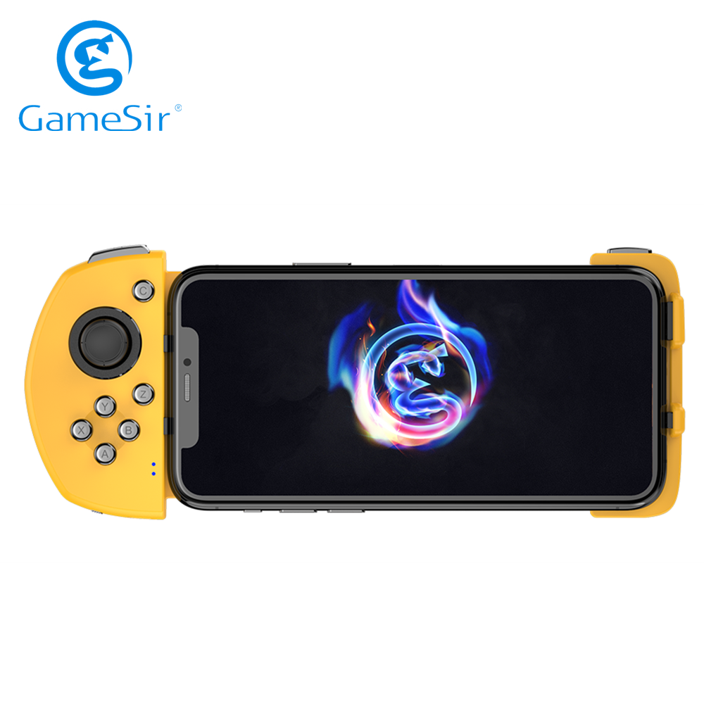 GameSir G6 Mobile Gaming Touchroller Bluetooth Wireless Controller for Android Phone PUBG Call of Duty CODM Yellow|Gamepads| - AliExpress