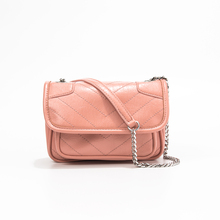 New Retro Handbags For Women PU Leather Chain Bags Lady Stylish Fashion Crossbody Single Shoulder Square Bag 2019