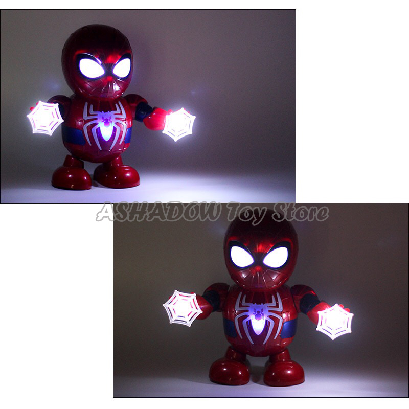 Details About Toys For Boys Led Robot Dance Spiderman 2 3 4 5 6 7 8 9 Year Age Old Xmas Gifts