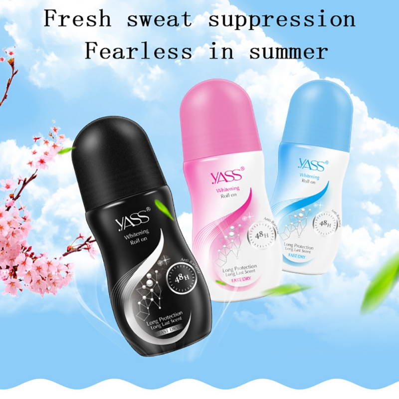 Antiperspirant Deodorant Roll On Skin Refreshing Comfortable Deodorant Anti Odor Spray