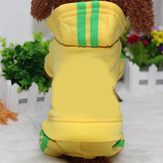 PUOUPUOU Winter Warm Pet Dog Clothes Hoodies Sweatshirt for Small Medium Dogs French Bulldog Sweet Puppy Dog Clothing XS-XXL 10