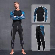 2021 зимняя спортивная одежда мужской костюм для бега свитшот