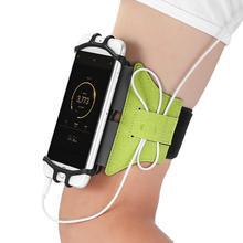 1 шт. 360 градусов вращающееся дышащее снаряжение для верховой езды на открытом воздухе скалолазание бег скольжение прочный езда мобильный наручный чехол для телефона