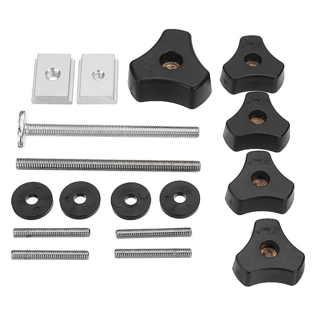 Drillpro Woodworking Tool Accessary Quick Action Hold Down Clamp Handle Nut For T-Slot T-Tracks - #6