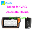 Токен для VVDI KEY TOOL PLUS получить IMMO данные расчета онлайн для VAG Suppoer MQB49 Remote