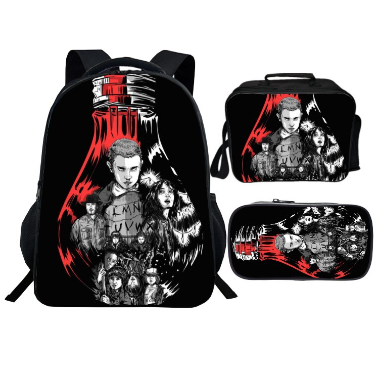 New Fashion Kids New Arrivals Stranger Things Backpack Casual Back To School Bags Boys Girls Children Mochila Gift High Quality