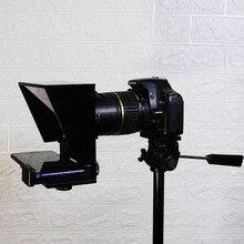 Обновленный мини-телепромтер портативный инкрустированный мобильный телепромтер артефакт видео с пультом дистанционного управления