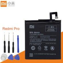 Оригинальный аккумулятор Xiao Mi 4000 мАч, аккумуляторы BM4A для телефонов Xiaomi Hongmi Redmi Pro, аккумулятор + Инструменты