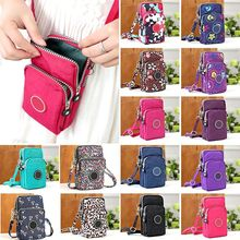 2020 Hot New Modern New And Fashion Classic Cross-body Mobile Phone Shoulder Bag Pouch Case Belt Handbag Purse Wallet Newest