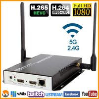 MPEG4 AVC / H.264 IPTV WIFI Encoder Hardware HDMI To RTSP HTTP RTMP IP Streaming Wireless For Live, Streaming Media Server