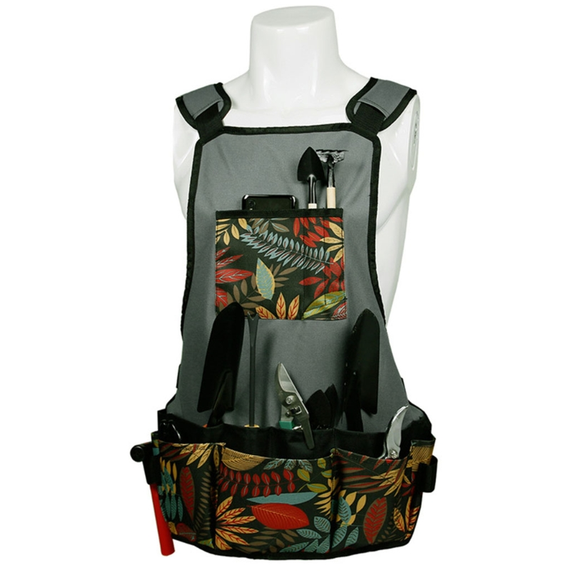 Multipurpose Outdoor Gardening Tool Apron Waterproof and Stain Resistant Apron