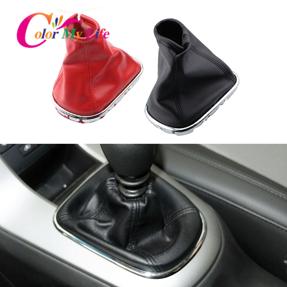 Car Gear Shift Knob Gaiter Boot Cover Leather Dust-proof Covers For Chevrolet Cruze 2008 2009 2010 2011 2012 2013 Accessories