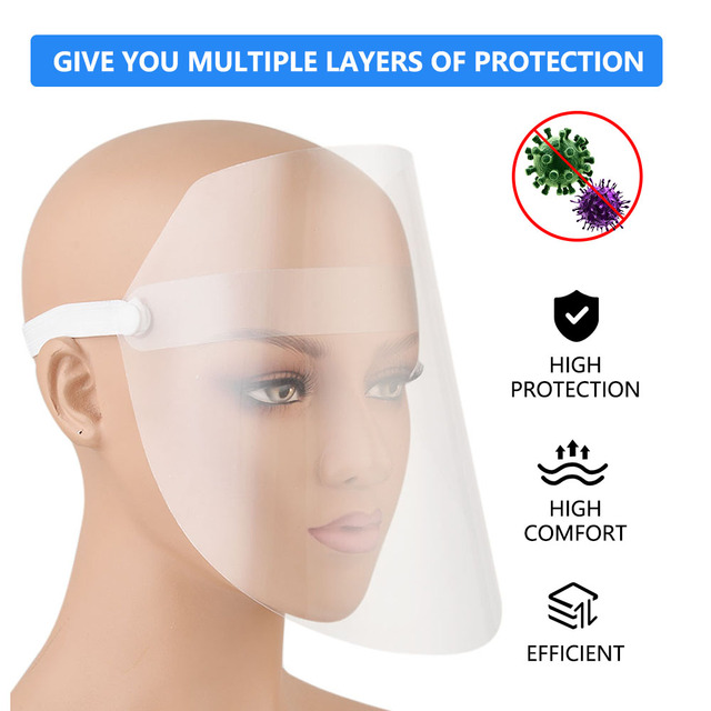 Safety Painting Face Protection Mask Multi-Function Flu-Splash Proof Mask Dust Face Protective Anti-spitting Splash