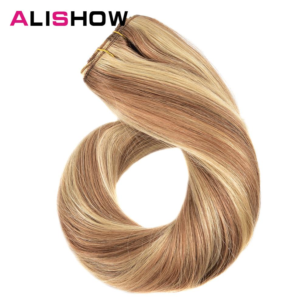 Alishow Clip In Human Hair Easy Do Clip Ins Quality Hair Ends Remy Hair Style 70g Hair Extension