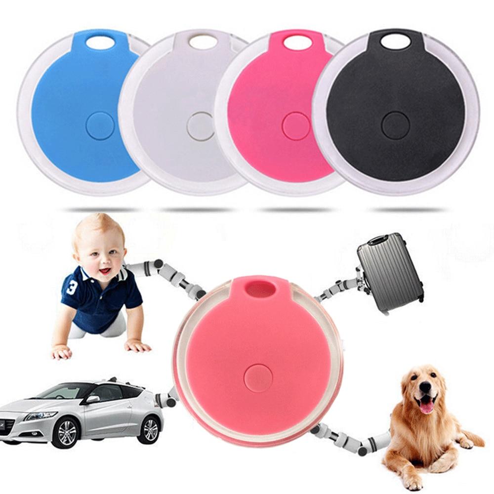 Kids Pets Smart Mini GPS Tracker Anti-Lost Waterproof Bluetooth Tracer For Dog Cat Keys Wallet Bag Kids Tracker Finder Equipment
