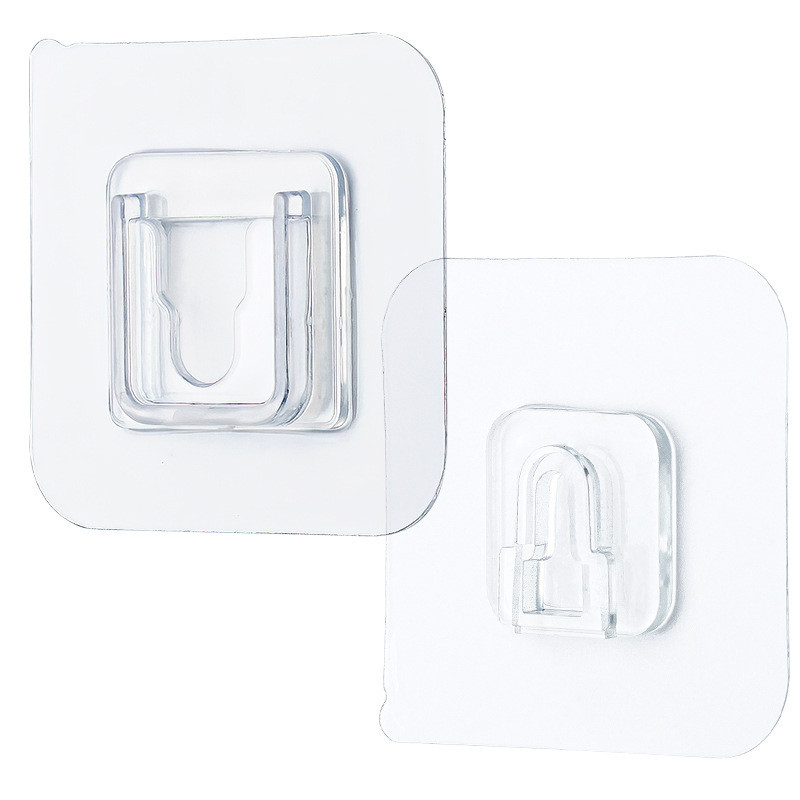 Storage Hanger Transparent Suckers Utility Hooks Suction Cup Screw Wall Rack