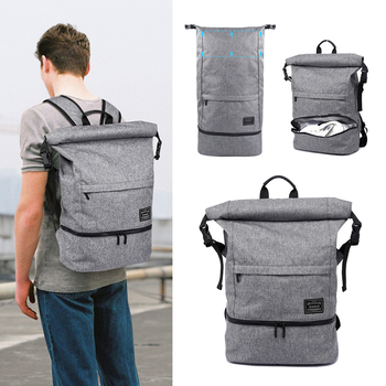 Travel Backpack Men Multifunction Scalable Capacity Backpacks Waterproof Casual Travel Bagpack For Laptop Student Bag Mochila men multifunction backpack detachable laptop travel bag large capacity casual business backpacks