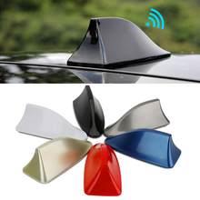 Antenne universelle en forme de requin pour toit de voiture, Signal FM/AM, style automobile, pour BMW, Honda, Toyota, Hyundai, Kia, Ford