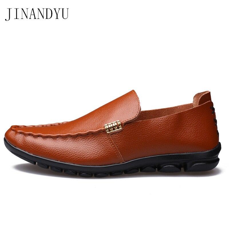 Купить туфли мужские из натуральной кожи водонепроницаемые без застежки