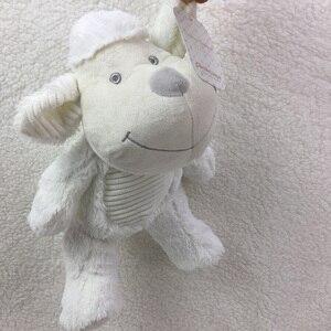 Image 3 - Boîte cadeau avec Animal mignon 75x100cm, couverture en velours de corail, jouet en peluche, lapin et éléphant, literie pour bébé