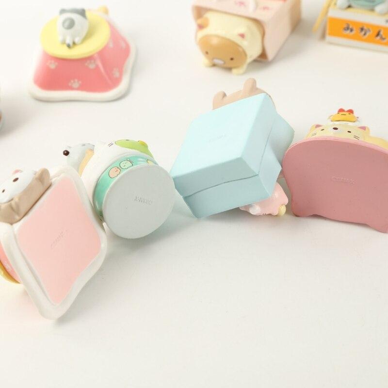 8 Pc Cute cartoon sumikko gurashi Doll Decoration Hand-made Model Cartoon Blind Box Gift-2
