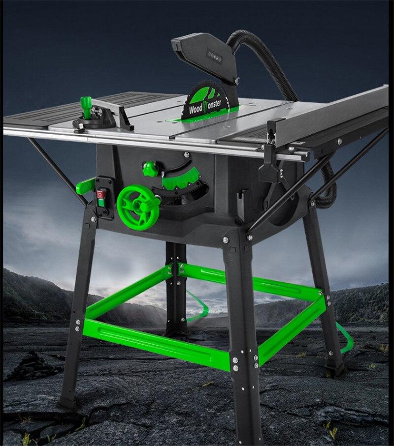 Scie à Table électrique multifonction scie à Table coulissante de précision scie à Table de coupe à bois 220V 1800W