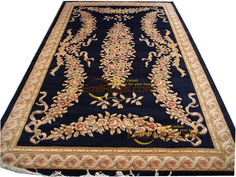 Carpet Machine  Style Hand Knotted Wool Pile Area Rug Carpet Handmade Home Decor Runner Rug Classic  Wool