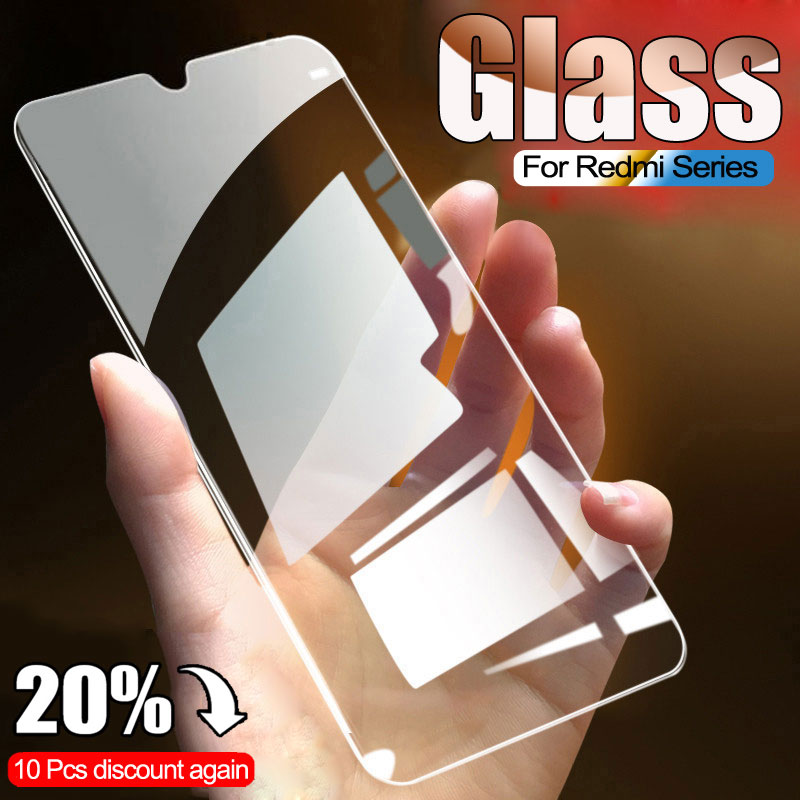 9D Protective Glass For Xiaomi Redmi 7 7A 8 8A K20 K30 Pro Screen Protector On Redmi Note 7 8 Pro 8T Safety Tempered Glass Film