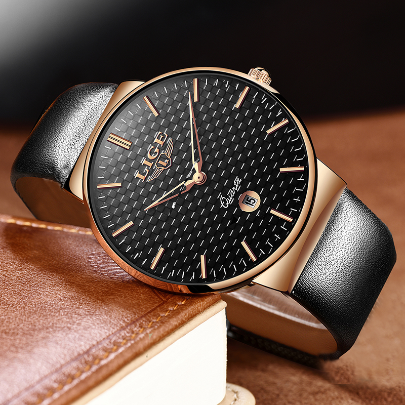 2020LIGE Fashion Women Men Sports Watch Analog Quartz Watches  Waterproof Business Women Wrist Watch Men Clock Relogio Masculino