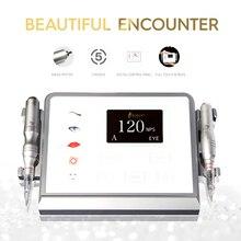 Biomaser P1 איפור קבוע מכונה מכשיר ערכת 12V Coreless מנוע 5 מצב אינטליגנטי דיגיטלי מגע מסך מכונת קעקוע סט