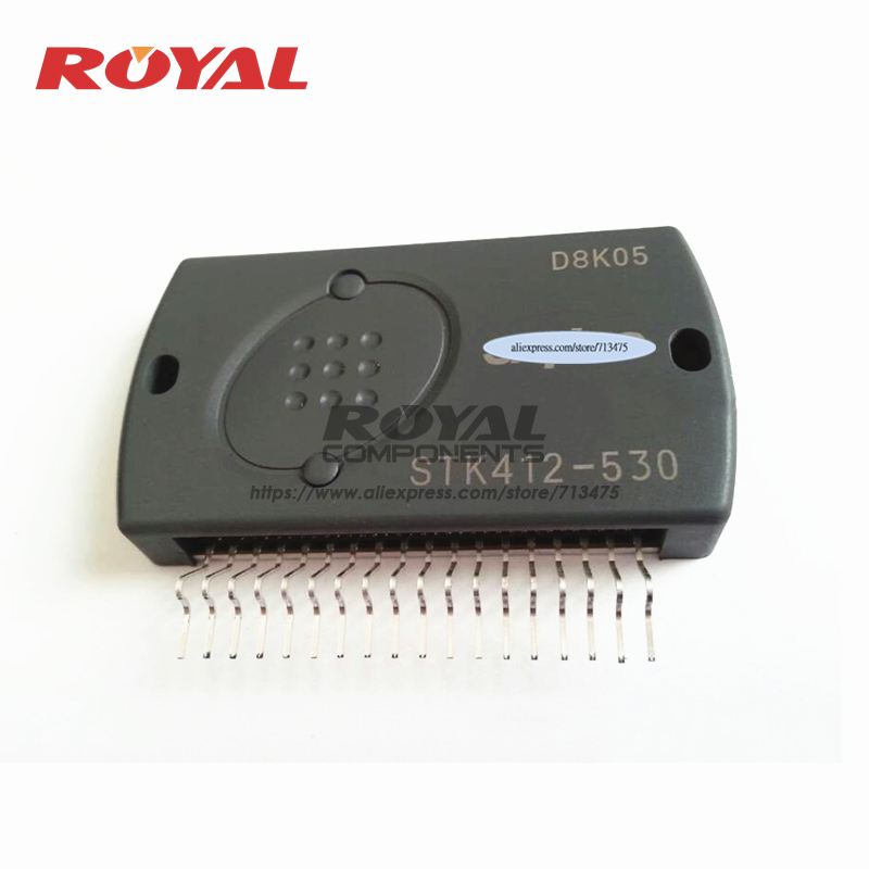 STK412-530 и IPM модуль