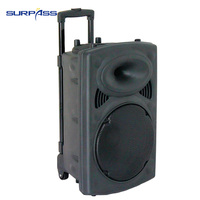 High Quality portable 12 inch Best Rechargeable DC Battery Bluetooth Speaker Box PA music column active audio Sound Amplifier