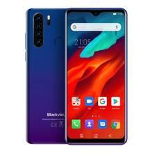 Blackview A80 Plus Smartphone 4GB RAM + 64GB ROM Octa Core 6,49 Zoll Wassertropfen Handy Quad Hinten kamera NFC Handy