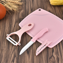 Soffe Portable Ultrlight Multifunction Ceramic Fruit Knife Peeling Set Suitable For Home Or Office Kitchen Knives Tools