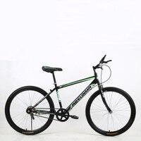 24/26 Polegada 21/24/27 velocidade de aço carbono alto versão emblemática em vez de andar mountain bike