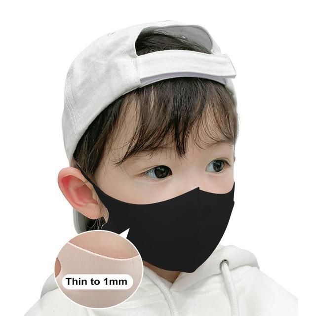 Kids Outdoor Cycling Anti Dust Haze Sponge Mouth Face Mask Respirator Masks Kids Dust Mask Windproof Facial Mask Sports Anti-fog