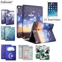 Kaifassce-Funda de silicona suave con patrón impreso para tableta, para iPad Mini 1 2 3 4, 7,9 pulgadas, para nuevo iPad Air1, 2, 9,7 pulgadas, 2017, 2018