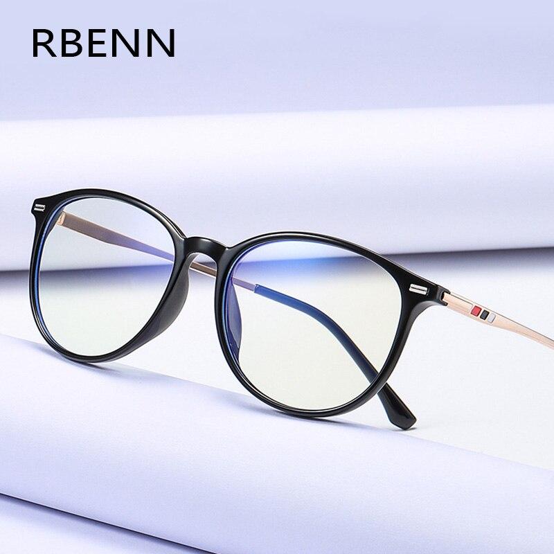 Брендовые дизайнерские классические очки для чтения RBENN для мужчин и женщин, очки для дальнозоркости с защитой от сисветильник для мужчин и ...